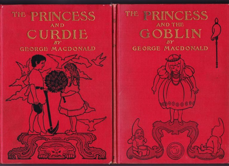 The Princess and Curdie; The Princess and the Goblin, 2 books. George Macdonald.