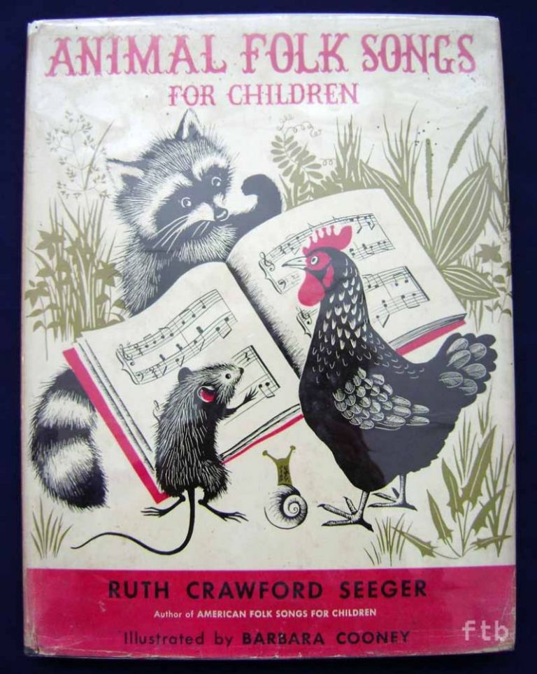 Animal Folk songs for Children. Ruth Crawford Seeger