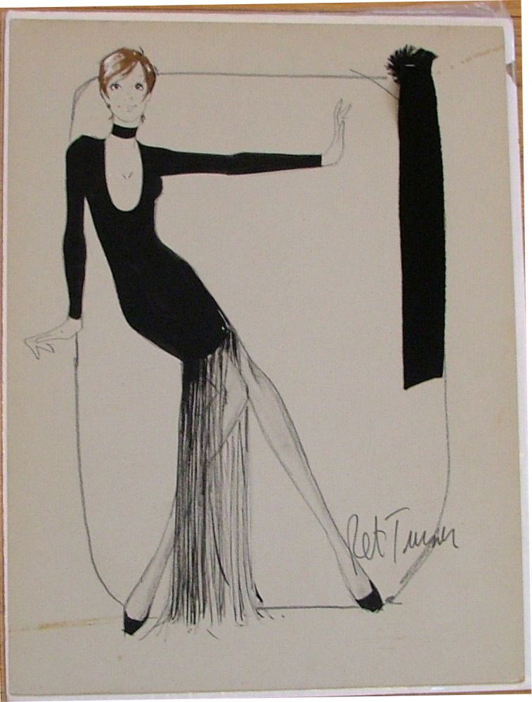 Liza Minelli costume design by Ret Turner for Liza TV Special in 1970