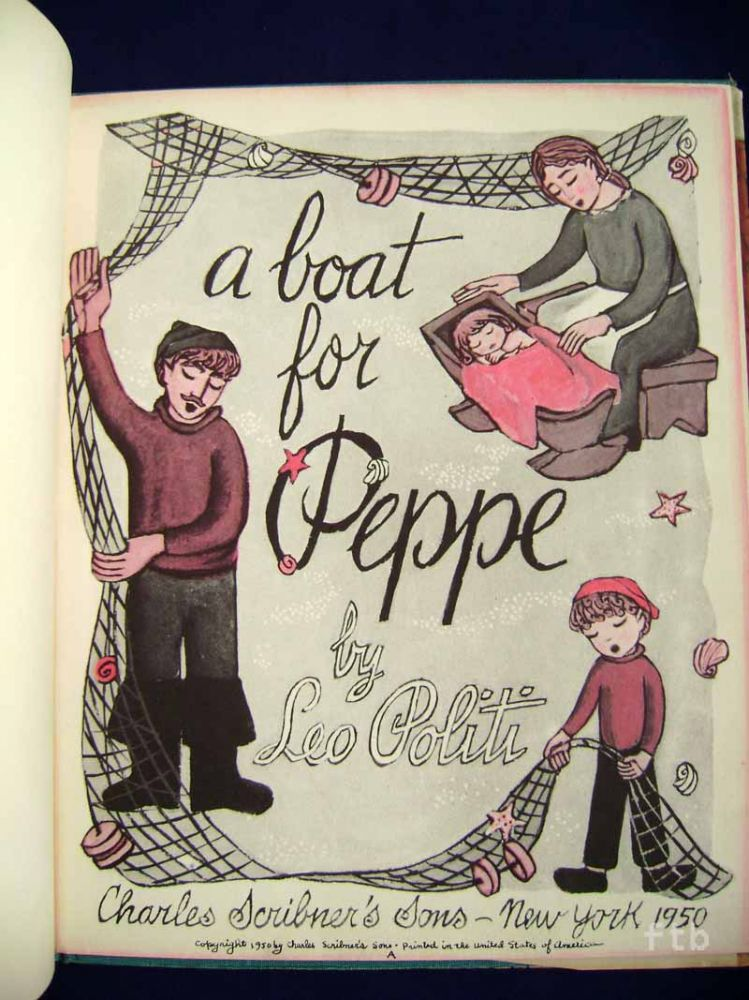 A Boat for Peppe. Leo Politi.