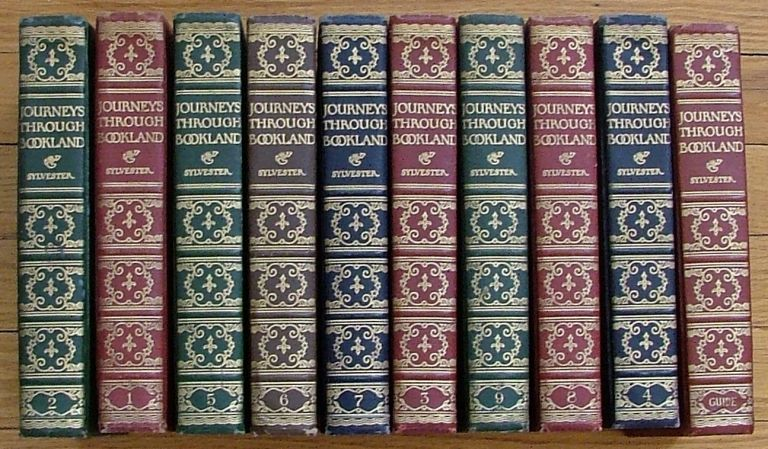 Journeys Through Bookland, A New and Original Plan for Reading Applied to the World's Best Literature for Children - complete in 10 volumes. Charles H. Sylvester, compiler.