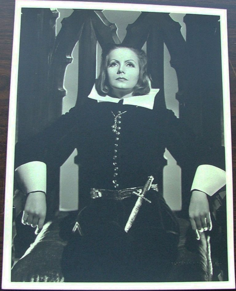 Greta Garbo as Queen Christina, vintage original 13 x 10 black and white silver gelatin photo by Clarence Sinclair Bull
