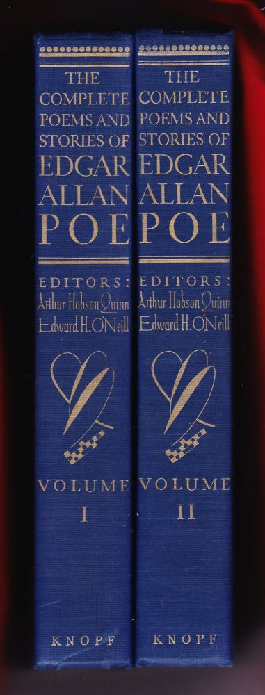 The Complete Poems and Stories of Edgar Allan Poe with Selections from his Critical Writings. Edgar Allan Poe.