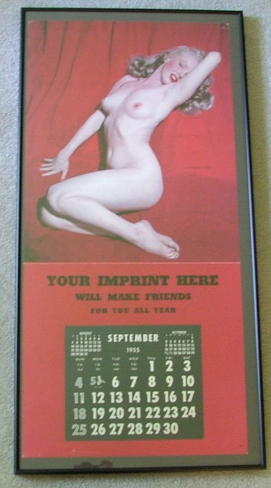 "Marilyn Monroe Calendar 1955, ""Golden Dreams"""