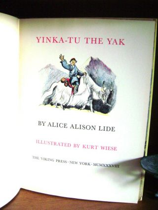Yinka-Tu the Yak