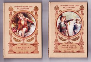 Children's Stories from Shakespeare, 6 volumes: Romeo & Juliet, A Midsummer Night's Dream, A...