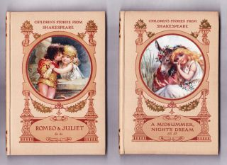 Children's Stories from Shakespeare, 6 volumes: Romeo & Juliet, A Midsummer Night's Dream, A Winter's Tale, The Merchant of Venice, Cymbeline, The Taming of the Shrew.