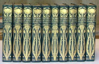 The Works of Edgar Allan Poe in Ten Volumes, Complete. Edgar Allan Poe