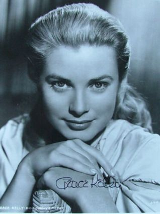 "Grace Kelly 8"" x 10"" signed photo"