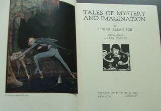 Tales of Mystery and Imagination. Edgar Allan Poe