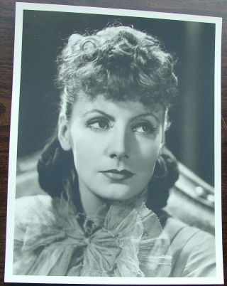 "Greta Garbo as Anna Karenina, vintage original black and white silver gelatin 13"" x 10"" photo by..."