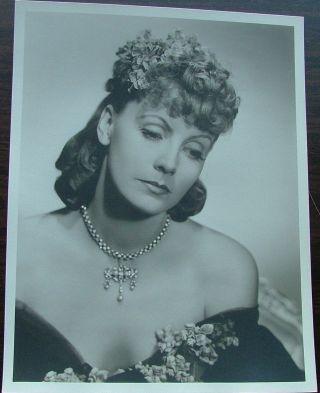 Greta Garbo as Anna Karenina vintage original 13 x 10 black and white silver gelatin photo by...