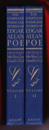 The Complete Poems and Stories of Edgar Allan Poe with Selections from his Critical Writings....