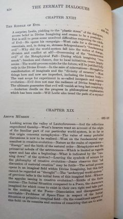 The Zermatt Dialogues, Constituting the Outlines of a Philosophy of Mysticism, Mainly on Problems of Cosmic Import