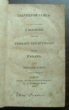 The Travels of Cyrus - Theology and Mythology of Pagans