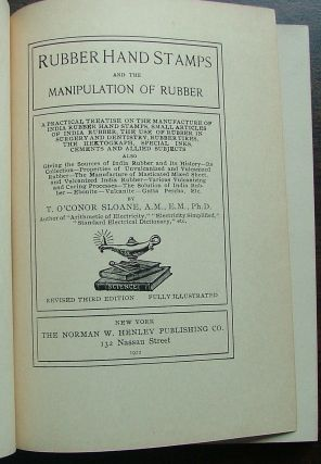 Rubber hand Stamps and the manipulation of India Rubber