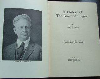 A History of the American Legion